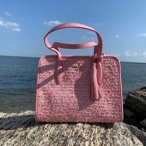 Kate Spade Small Rowe Summer Tweed Bag